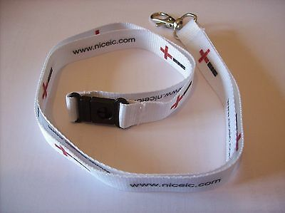 Niceic Nic Eic Lanyards - Electrical Competent Person Scheme Id Card Lanyard New