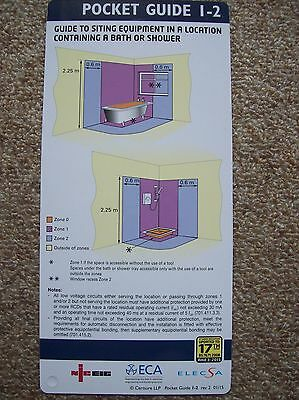 ELECSA POCKET GUIDES x 39 HANDY GUIDE CARDS 3rd AMENDMENT BS7671 17TH EDITION