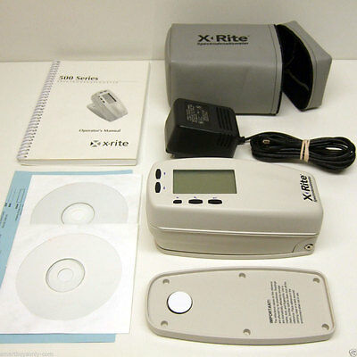 X-Rite 508 Color Spectrophotometer Densitometer Xrite 508 Excellent Condition