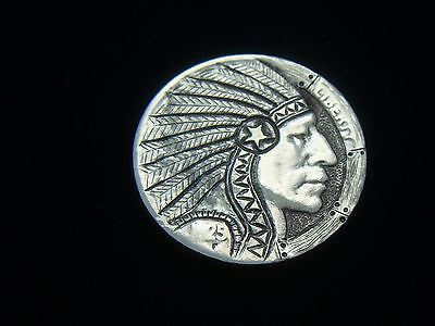 1925-P hobo nickel - INDIAN CHIEF   # 1226
