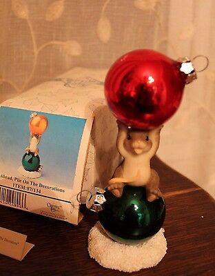 Charming Tails Go Ahead, Pile on The Decorations Figurine Box 87/134