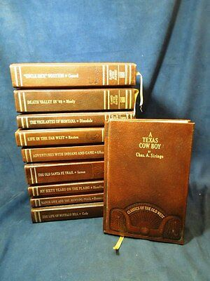 Lot Of 10 Classics Of The Old West Time Life Books Group # 1