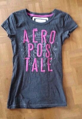 T-shirt AEROPOSTALE gris anthracite taille S - NEUF