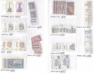 Wholesale Lot of I country stamps - CV $90.00