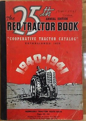 THE 25th ANNUAL EDITION RED TRACTOR BOOK (1940) 360 pages of vintage tractor ads