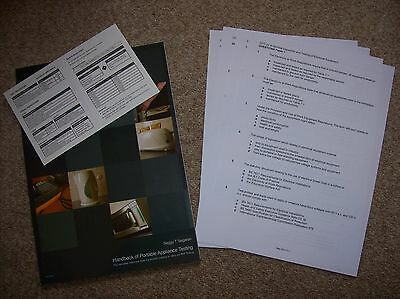 PAT TESTING Handbook of Portable Appliance Testing PAT Testing Information Guide