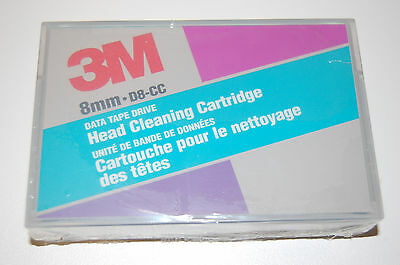 3M  8mm Cleaning Cartridge D8-CC  neu, Reinigungskassette, Made in USA