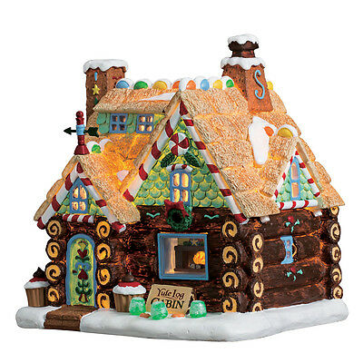 Lemax - 75178 - Yule Log Cabin, Sugar`n Spice, New Collection 2017!