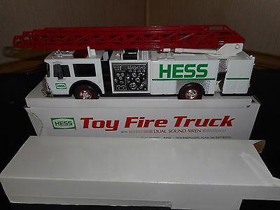 1989 Hess Toy Fire Truck In Mint Condition W/box Issue