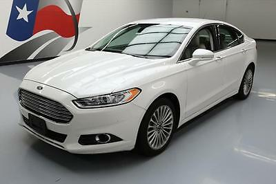2014 Ford Fusion Titanium Sedan 4-Door 2014 FORD FUSION TITANIUM ECOBOOST NAV REAR CAM 44K MI #315919 Texas Direct Auto