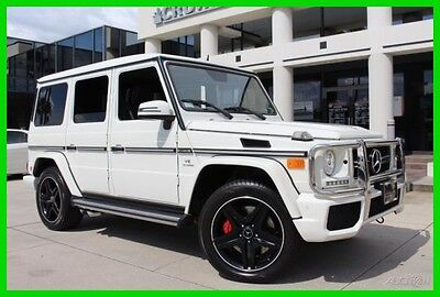 2013 Mercedes-Benz G-Class G 63 AMG® 2013 G 63 AMG Used Mercedes Benz Certified Turbo 5.5L V8 32V Auto 4MATIC