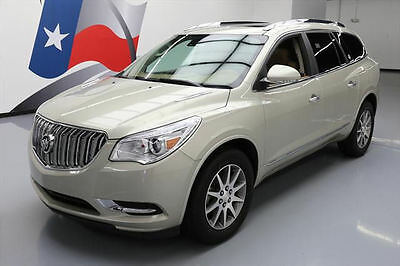 2014 Buick Enclave Leather Sport Utility 4-Door 2014 BUICK ENCLAVE LEATHER AWD DUAL SUNROOF NAV 33K MI #273414 Texas Direct Auto
