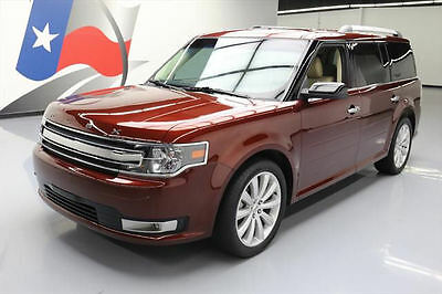 2015 Ford Flex  2015 FORD FLEX SEL 7-PASS LEATHER NAV REAR CAM 20'S 20K #A21982 Texas Direct