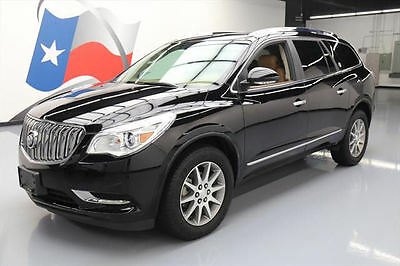 2017 Buick Enclave Leather Sport Utility 4-Door 2017 BUICK ENCLAVE LEATHER 7-PASS DUAL SUNROOF 16K MI #219650 Texas Direct Auto