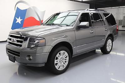 2014 Ford Expedition Limited Sport Utility 4-Door 2014 FORD EXPEDITION LIMITED 7PASS SUNROOF NAV 20'S 72K #F14754 Texas Direct