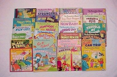 LOT OF 25 - THE BERENSTAIN BEARS FIRST TIME BOOKS by STAN & JAN BERENSTAIN