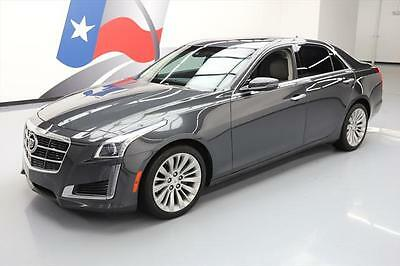 2014 Cadillac CTS Luxury Sedan 4-Door 2014 CADILLAC CTS 2.0T LUX PANO ROOF NAV CLIMATE SEATS! #118893 Texas Direct