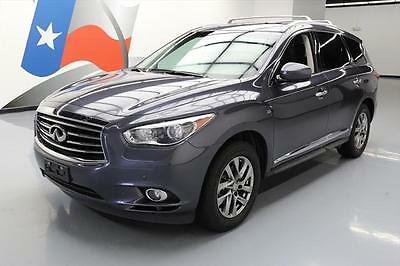 2014 Infiniti QX60 Base Sport Utility 4-Door 2014 INFINITI QX60 HTD LEATHER SUNROOF NAV 360 CAM 58K #525484 Texas Direct Auto