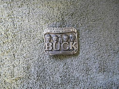 Old Buck Knives Belt Buckle 4 Generations Of Knife Makers Smokey Mountain Works