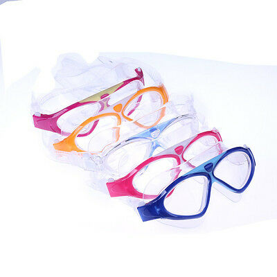 Kid/Adults Adjustable Seal Clear Lens Anti-fog Swimming Goggles Mask