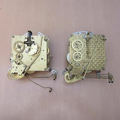 2 Vintage Smiths Westminster Chime Clock Movements - Spares / Repair