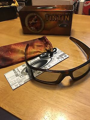 Oakley Adventures Of Tintin 3-D Glasses 009143–05 New