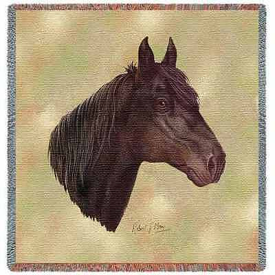 Lap Square Blanket - Morgan Horse by Robert May 2370