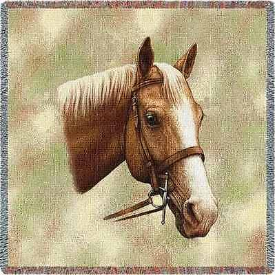 Lap Square Blanket - Palomino by Robert May 1736