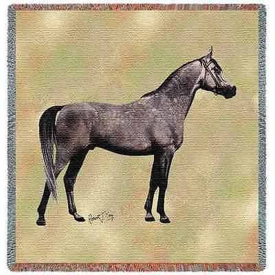 Lap Square Blanket - Endurance Arabian by Robert May 2379