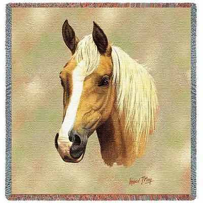 Lap Square Blanket - Palomino by Robert May 2367