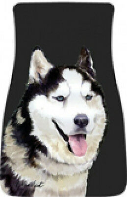 Car Floor Mats Pair - Siberian Husky (BVV) 21018