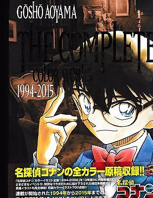 Gosho Aoyama The Complete Color Works 1994-2015 Book Detective Conan