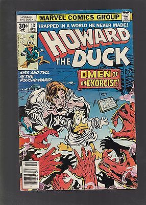Howard The Duck #13 1st Full KISS Comic Book Appearance!