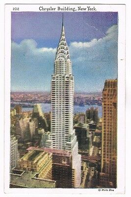 CPA coul. New York - Chrysler Building - 1937