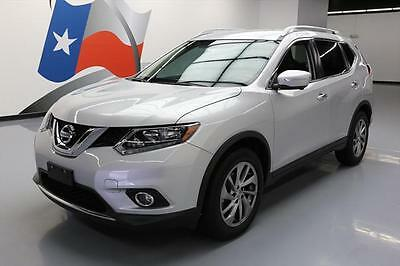 2015 Nissan Rogue  2015 NISSAN ROGUE SL  HTD LEATHER NAV REAR CAM 13K MI #838483 Texas Direct Auto