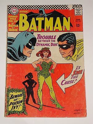 BATMAN # 181 (DC Comics)  1st Appearance of Poison Ivy  Centrefold Poster Intact