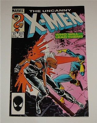 UNCANNY X-MEN # 201 (Marvel Comics) - 1st Appearance Cable (as baby)