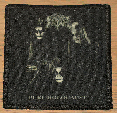 "IMMORTAL ""PURE HOLOCAUST"" silk screen PATCH"