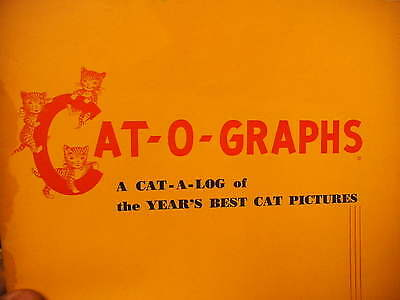 Cat-O-Graphs VOL 1, 1951 Year's Best Cat Pictures   3 Little Kittens Cat Food