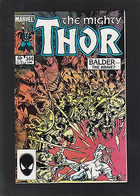 Thor #344 1st Malekith the Accursed & Dark Elves Appearance!