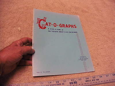 Cat-O-Graphs VOL 2, 1952 Year's Best Cat Pictures   3 Little Kittens Cat Food