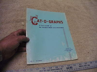 Cat-O-Graphs VOL 3, 1953 Year's Best Cat Pictures   3 Little Kittens Cat Food