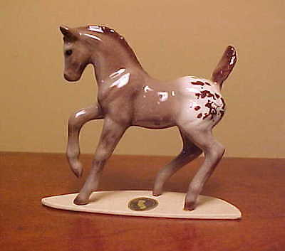 "RETIRED Hagen-Renaker Specialty #3268 Appaloosa Colt ""Sizzle"" - UNUSUAL Version!"