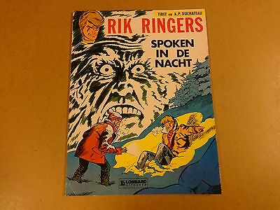 Strip / Rik Ringers N° 11 - Spoken In De Nacht