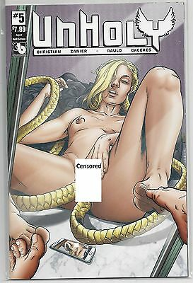 Unholy #5 Argent Cover C Variant Edition Cover Boundless Comics
