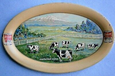 CARNATION MILK Advertising Tip Tray from the early 1900's