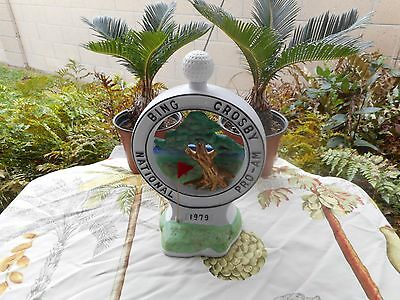 Bing Crosby 1979 Pebble Beach National Pro-Am Decanter