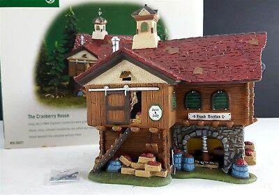 Dept 56 The Cranberry House New England Village 56627