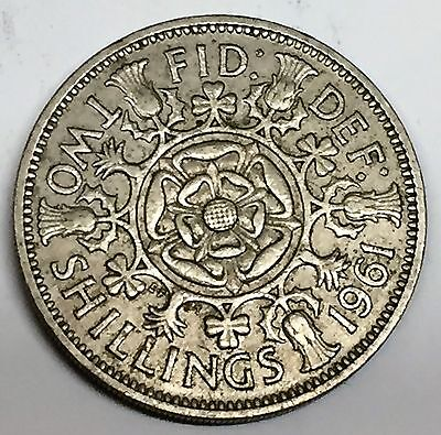 C3797    Great  Britain   Coin,   Florin  ( 2 Shilling )      1961
