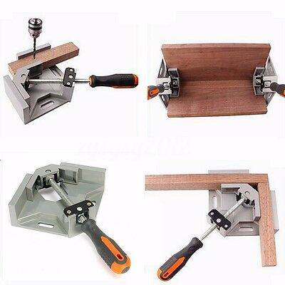 Corner Clamp 90° Right Angle Clamp Woodworking Vice Wood Metal Welding UK